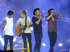 The boys on stage // Cardiff, UK (6.6.15)