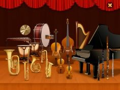 Meet the Orchestra is an interactive educational app for learning about classical musical instruments on the iPad: an introduction to the orchestra for the kids.