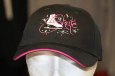 Skate Hats, Figure Skating, Display Ideas, Baseball Hats, Logo Design, Hollywood, Logos, Pink, Crafts