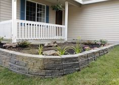 Up+Your+Curb+Appeal+With+a+Stunning+Retaining+Wall