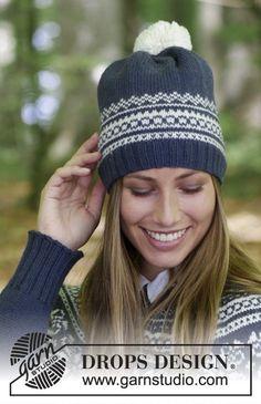 9e15ce27be2cb Lofoten Hat   DROPS 181-11 - Free knitting patterns by DROPS Design