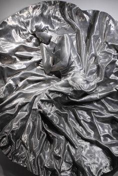 Скульптуры из алюминиевой проволоки Сон Мо Парка