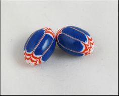 Tutorial:  Chevron beads in polymer clay.