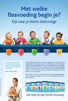 Advertentie flesvoeding / Nutrilon