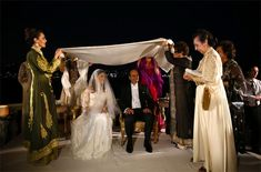 Prince Muhammad Ali of Egypt and Princess Noal Zaher of Afghanistan wed on 30 Aug at Çirağan Palace, a former Ottoman palace that's now a luxury hotel in Istanbul, Turkey where the couple had first met.