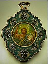Enamel Icon by Faberge