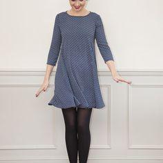 Nancy Dress PDF Sewing Pattern :: Sew Over It Online Fabric Shop :: a beautiful Swing Dress sewing pattern