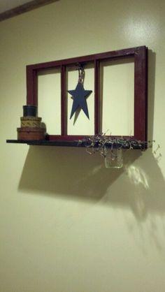 putting a shelf underneath is a neat idea