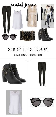 """kendall jenner"" by redeem181 on Polyvore featuring Yves Saint Laurent, ElleSD and Chanel"