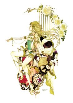 Art by manga artist Sakizou.