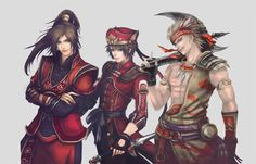 Ling tong lu xun gan ning Dynasty Warriors, Warriors Game, Fantasy Warrior, Warriors Orochi 4, Sengoku Musou, Character Art, Character Reference, Basara, Warriors