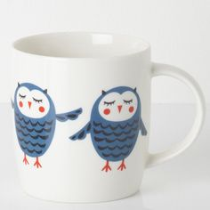 Sarah Papworth:  Freelance textile designer. Owl mug, BHS.  www.sarahpapworth.co.uk
