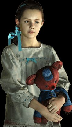 Natalia Korda Born on 2001. Orphaned child encountered by Barry Burton on an uncharted island after being abducted by the Overseer. She lost her parents in during the Terragrigia Panic, where she was rescued by TerraSave chief Neil Fisher, before its destruction and gave her a teddy bear she named Lottie. Due to traumatic events, she suffered enormous blow to her psyche, leaving her with a limited emotional range and a seemingly inability to feel fear.
