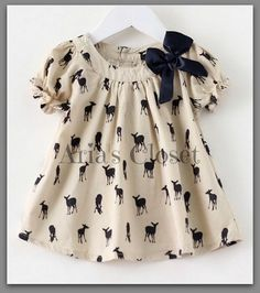 ideas sewing clothes kids dress fabrics for 2019 Kids Frocks, Frocks For Girls, Dresses Kids Girl, Baby Dresses, Frock Design, Baby Dress Design, Baby Outfits, Kids Outfits, Sewing Baby Clothes