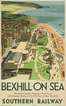 English Travel and Railway Posters From London Midland and Scottish Railway LMS London and North Eastern Railway LNER Great Western Railway GWR Posters Uk, Train Posters, Railway Posters, Vintage Travel Posters, Retro Posters, Retro Ads, Travel English, British Travel, British Seaside