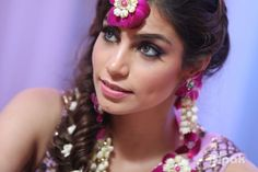 Photographer - The Bride! Photos, Hindu Culture, Cream Color, Make Up, Bridal Makeup, Mangtika pictures, images, vendor credits - Orana Hotels and Resorts, WeddingPlz