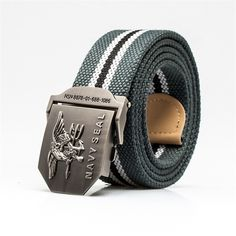 2016 Brand Mens Belt Us Navy Seal Metal Smooth Buckle Striped Canvas Casual Knit Strap Belts Eagle Waist Cinto #electronicsprojects #electronicsdiy #electronicsgadgets #electronicsdisplay #electronicscircuit #electronicsengineering #electronicsdesign #electronicsorganization #electronicsworkbench #electronicsfor men #electronicshacks #electronicaelectronics #electronicsworkshop #appleelectronics #coolelectronics