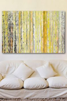 Aspen Forest 2 Canvas Wall Art by Marmont Hill Inc. on @HauteLook