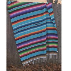 Bright colored Mexican blanket This vibrant blanket is a must for every household. Throw it over a bed or a couch. It adds a hint of bohemia to every room. Acrylic x Handwoven in Mexico Mexican Restaurant Decor, Mexican Fabric, Painted Rug, Southwest Decor, Western Chic, Mexican Style, Colorful Rugs, Mexican Blankets, Hand Weaving