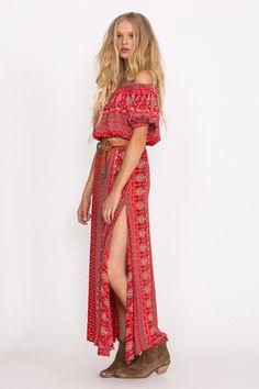 Spell Designs Gypsiana Split Skirt