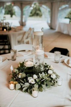 20 Simple Greenery Wedding Centerpieces Decor Ideas