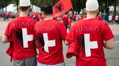 Les fans albano-suisses sont arrivés à Lens