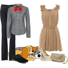 Lady & the Tramp - Date Night by rcahelbug70 on Polyvore