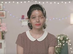 """Marie Claire has introduced us to Reshma, who is without question one of the most inspiring beauty bloggers ever. She's an acid-attack survivor who bravely decided to post a """"beauty tutorial"""" that sends the world an important message about..."""