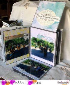 Hello, Je vous propose cette semaine, une fiche technique pour réaliser un mini album avec une reliure accordéon. Il vousfaudra : du cardstock de la cartonnette ( calendrier) le papier et les embellissements de votre choix j'y ai mis 21 photos, mais il...