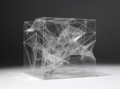 Architectural model in acrylic by Sou Fujimoto Architects