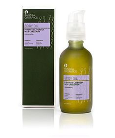 Pangea Organics Massage  Body Oil Pyrenees Lavender With Cardamom 4Ounce Box -- This is an Amazon Affiliate link. See this great product.