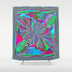 #art by #Robert S. #Lee #butterfly #shower #curtain