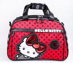 Hello Kitty Overnight Bag: Big Red Bow