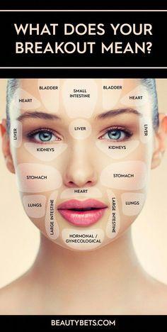 Your digestive system & skin #PimplesRemedies