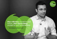 Sandeep Maheshwari is a Successful Entrepreneur and talented motivational speaker in India. Read Here: Sandeep Maheshwari Quotes and Thoughts Words. Inspirational Quotes About Success, Motivational Quotes, Sandeep Maheshwari Quotes, Study Motivation Quotes, Self Quotes, Appreciate You, Great Words, Look In The Mirror, Qoutes