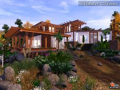 Maurer Eco modern house by Autaki - Sims 3 Downloads CC Caboodle
