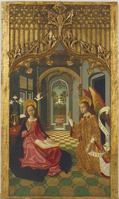 Annunciation | Museu Nacional d'Art de Catalunya | Master of La Seu d'Urgell, Circa 1495