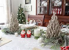 Image result for Christmas Dining Room Ideas