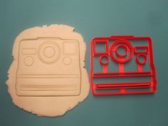 Polaroid Camera Cookie Cutter/Fondant by Francesca4me on Etsy