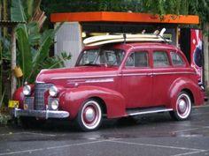 1939 Oldsmobile surfer car