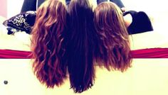 It doesn't matter about the hair it matters about the people your friends with and who you can trust <3