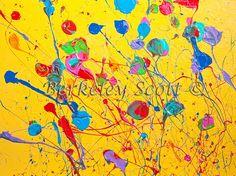 """Festivity""  18x24""  Acrylic on Canvas  By Berkeley Scott  www.Berkeleyscottart.com"