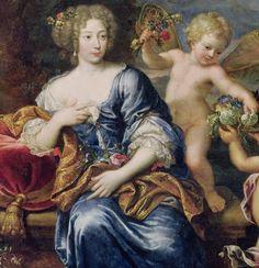 28 mai 1707 : mort de madame de Montespan (Françoise de Rochechouart) | Portrait de Madame de Montespan, par Pierre Mignard