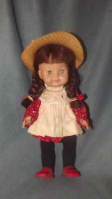 """Vintage 1964 Vogue Littlest Angel Brunette Doll Original Outfit 11"""" U1008"""