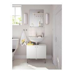IKEA skab under vask udnytter pladsen samtidig med at den gemmer de praktiske ting væk