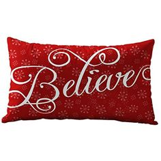 Christmas Pillow Cases,Muxika New Fashion Christmas Sofa Bed Home Decoration Pillow Case Cushion Cover Rectangle 30cmX50cm (F) >>> Be sure to check out this awesome product. (This is an affiliate link) #KidsHomeStore