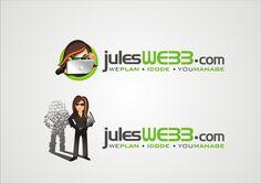Logo   Avatar Icon for freelance web developer by creativica design™