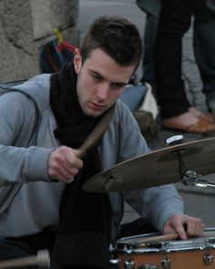Drumming with intent by Lawrence OP, London, via Flickr