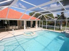 Executive Waterfront Poolvilla, cozy quiet location, magnificent viewVacation Rental in Cape Coral from @HomeAway! #vacation #rental #travel #homeaway