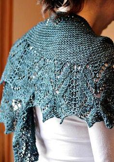 Ravelry: zuzusus' Emerantha in my queue, maybe next  shawl